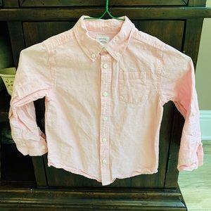 Boys Gymboree Button Down Dress Shirt: Size 5/6